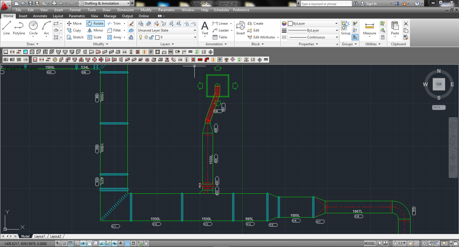 Ductwork Drawing Software by Ensign | Hvac Drawing Program |  | Ensign Advanced Systems Ltd
